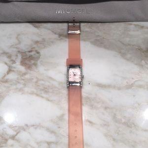 Peach/Pink Kids MICHELE Watch